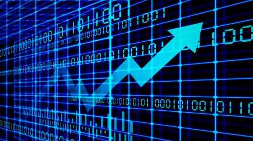a stock market index
